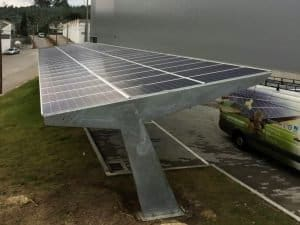 Parking fotovoltaico de 15kW