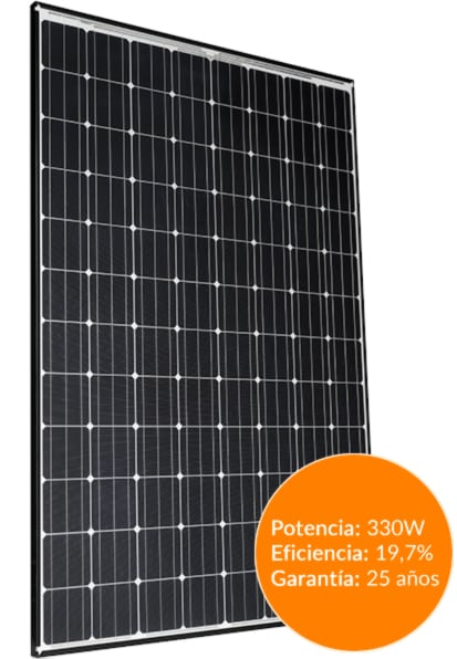 placa solar Panasonic hit n330SJ47