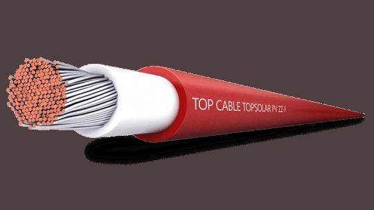 Cable solar habitualmente utilizado en instalaciones fotovoltaicas