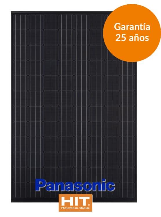 Placa solar panasonic Kuro N320-325K tecnología HIT