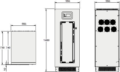 Dimensiones Riello Aros-Sirio K25