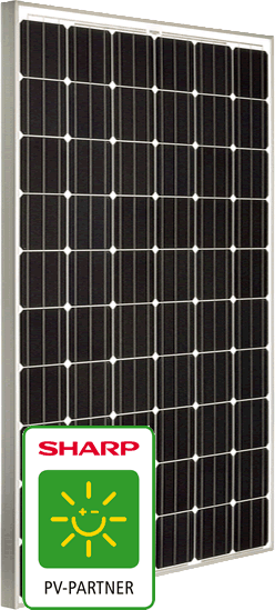 Panel solar 290W, SHARP NU-RC290 Mono