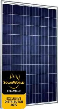 Panel solar 260W - SolarWorld SW 260 Poly