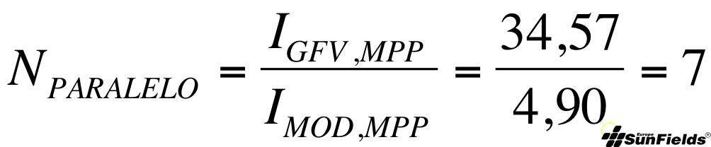 ecuación cálculo número paneles paralelo fotovoltaica autónoma criterio_Ah