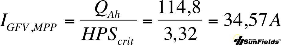 ecuación corriente generada fotovoltaica autonoma2