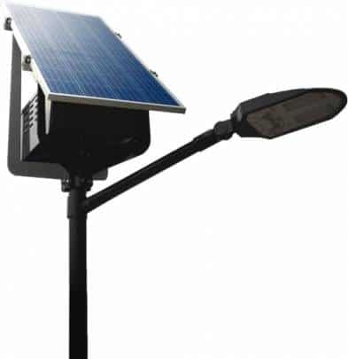 Lámpara solar LED 20W