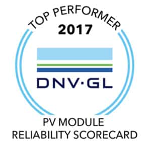 Panel Sunpower performance series mejor rendimiento DNV GL