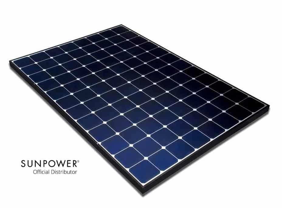 paneles solares sunpower