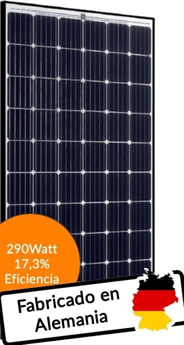Placa solar SolarWorld modelo SW290 Mono PERC