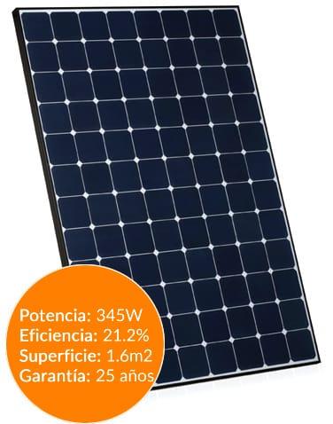 Placa solar Sunpower spr-x21-345