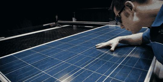 pv-test tuv laboratorio ensayo mejores paneles solares