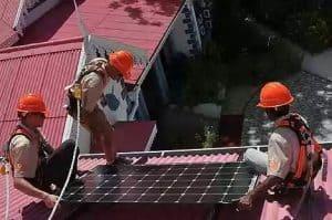 Seguridad durante el montaje instalación fotovoltaica