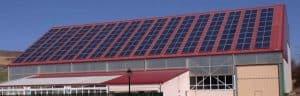Suministro tejado fotovoltaico - 80kW - SHARP NDR245