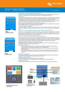 thumbnail of Ficha-inversor-cargagor-Victron-Quattro-3kVA-10kVA-ES