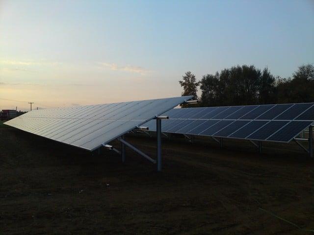 Suministro huerta fotovoltaico – 100kW – SHARP ND250