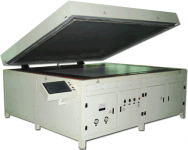 Solar panels laminating machine