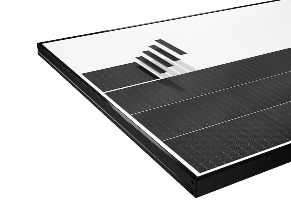 Panel solar sin bus-bar ni soldaduras metálicas