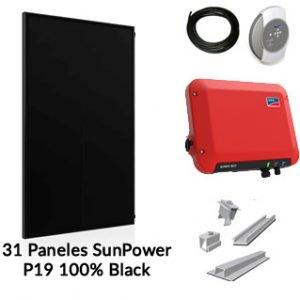 Kit solar para autoconsumo de 10000W Nominales