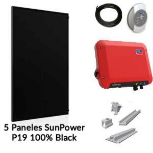 Kit Solar para Autoconsumo 1500watt Nominales