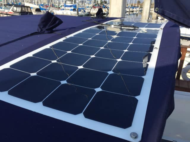 Placa Solar Flexible Barco SunPower Flex 110