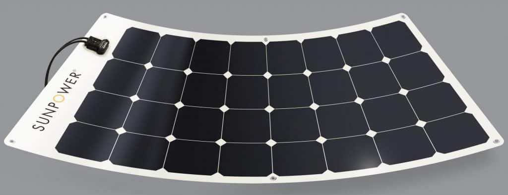 Placa Solar Flexible SunPower
