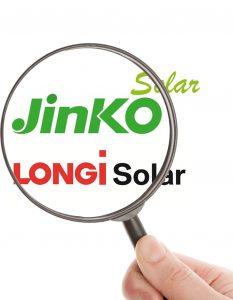 Comparativa Longi vs Jinko Solar