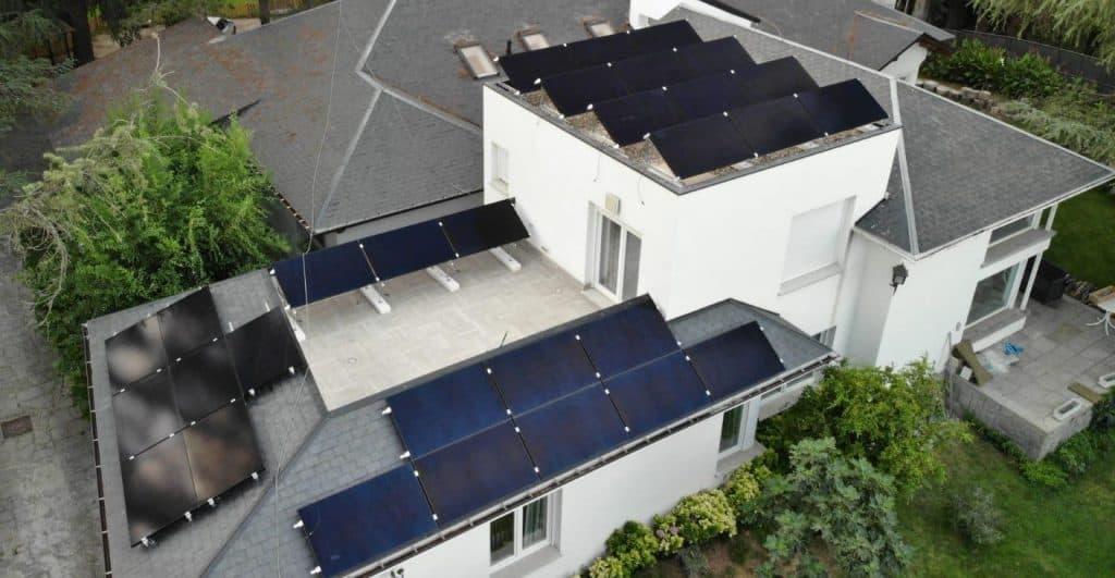 Instalación 10kW con placas solares SunPower P19-BLK