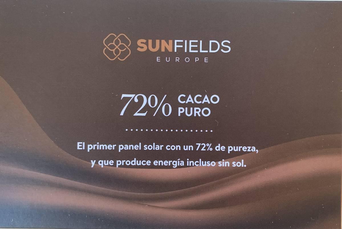 Panel solar por Navidad
