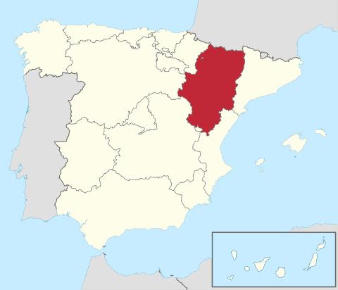 Comunidad de Aragón en España