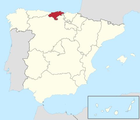Comunidad de Cantabria en España