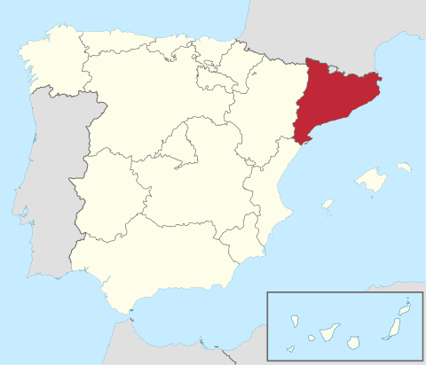 Comunidad de Cataluña en España