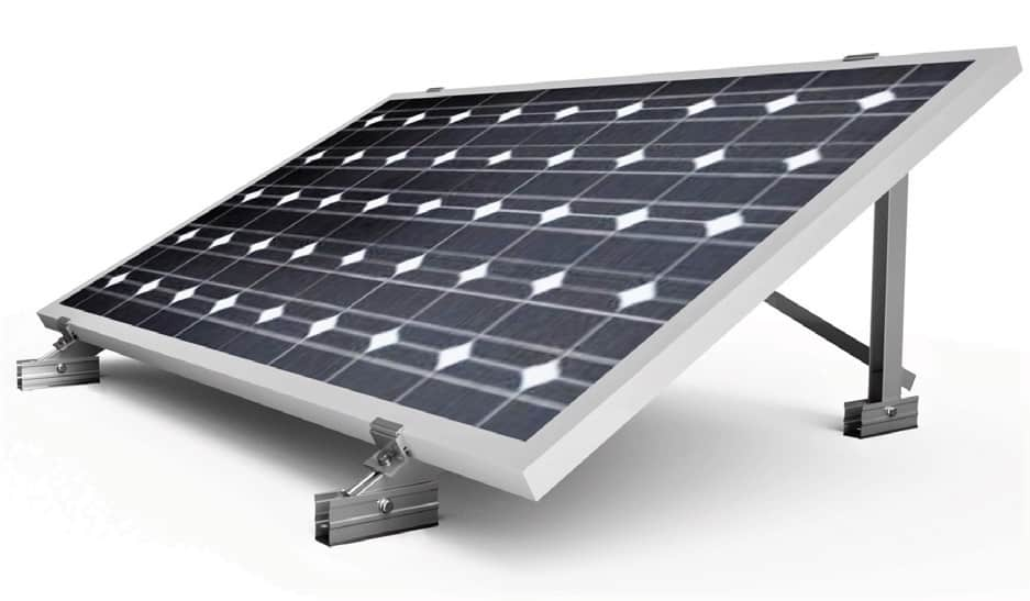 Soporte placa solar para suelo