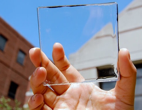 Vidrio solar para ventanas fotovoltaicas