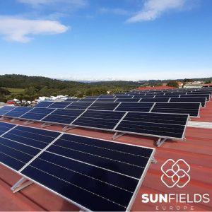 Instalación de autoconsumo industrial de 30kW en La Estrada (Galicia)