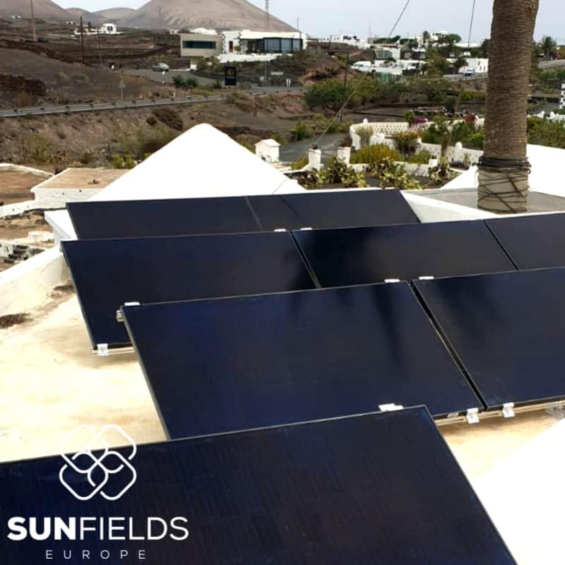 Instalación fotovoltaica para autoconsumo, de 3kW en Lanzarote