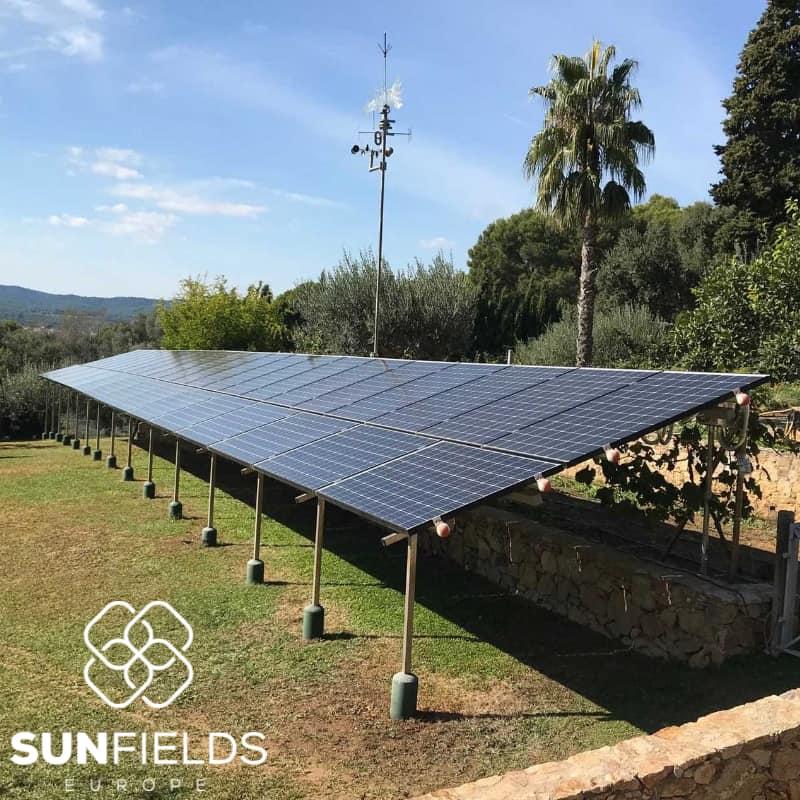 suministro 6kw instalacion fotovoltaica autoconsumo en Girona (Cataluna)