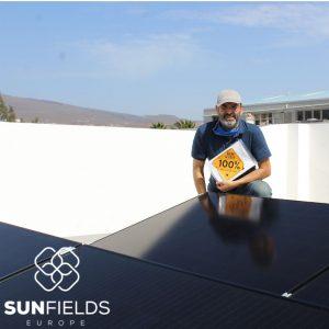 suministro 9kw instalación fotovoltaica autoconsumo en Las Palmas (Canarias)