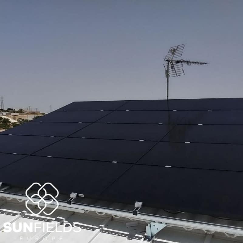 Instalación para autoconsumo de 6kW en Andalucia