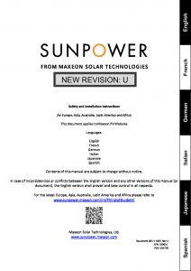 thumbnail of Manual de instalacion paneles SunPower – web