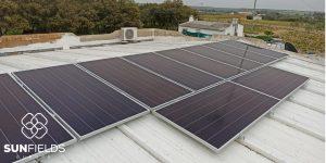 Fotovoltaica con baterías de 4kW en Bonares - Huelva